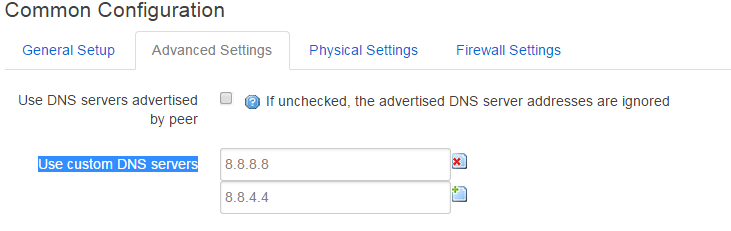 OpenWRT Change DNS